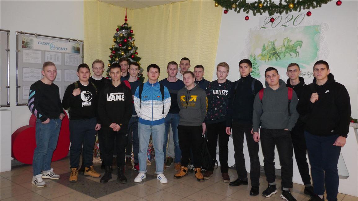 Учащиеся Гомельского государственного политехнического колледжа посетили БГТУ